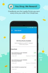 screenshot of ShopClues: Online Shopping App version 3.5.55