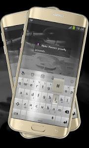 Download Silver Chrome Keypad Cover 3.2 APK