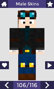 screenshot of Skins for Minecraft PE version 6