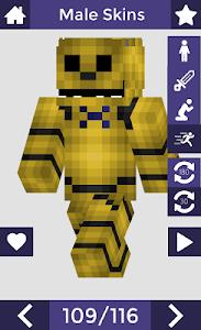 Download Skins for Minecraft PE 6 APK