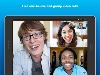 screenshot of Skype - Talk. Chat. Collaborate. version Varies with device