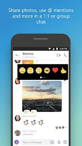 screenshot of Skype - free IM & video calls version Varies with device