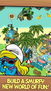 screenshot of Smurfs' Village version 1.43.0