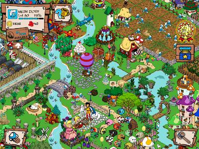 screenshot of Smurfs' Village version 1.49.1