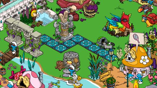 screenshot of Smurfs' Village version 1.6.6a