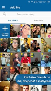 Download SnapFriends for Snapchat & Kik 1.5 APK