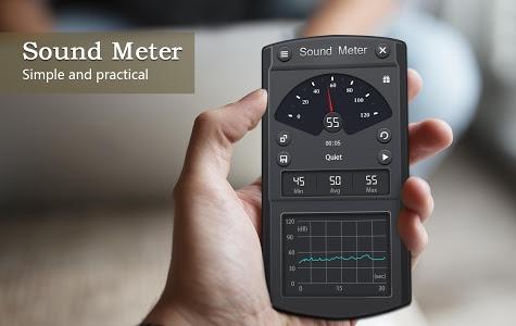screenshot of Sound Meter - Decibel meter & Noise meter version 2.1.3
