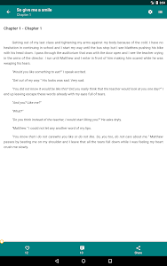 screenshot of Free Books - Spirit Fanfiction and Stories version 2.0.125