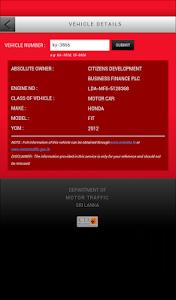 Download Sri Lanka Vehicle Info 2.1.0 APK