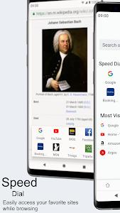 screenshot of Super Fast Browser version 12.0.1011.25