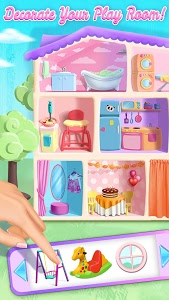 Download Sweet Baby Girl Doll House - Play, Care & Bed Time 2.0.15 APK