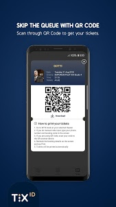 screenshot of TIX ID version 1.8.1