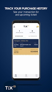 screenshot of TIX ID version 1.0.2