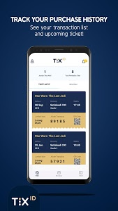 screenshot of TIX ID version 1.7.1