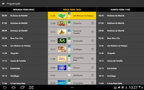screenshot of TV SBT version 1.6.9