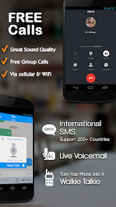 screenshot of TalkU Free Calls +Free Texting +International Call version 3.9.1