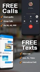 screenshot of TalkU Free Calls +Free Texting +International Call version 4.3.2