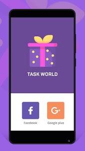 screenshot of Task World version 1.1