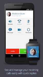 screenshot of Text Me - Free Texting & Calls version 2.8.10