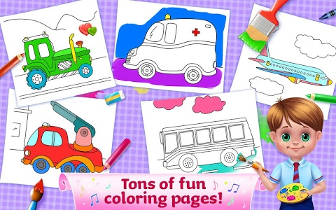 Download The Wheels on the Bus - Learning Songs & Puzzles 1.0.8 APK