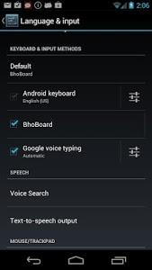 screenshot of Tibetan Keyboard version 0.2
