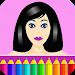 Download Coloring pages: Model dress up 7.6.0 APK