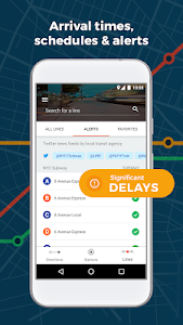 screenshot of Moovit: Bus Time & Train Time Live Info version 5.23.0.368