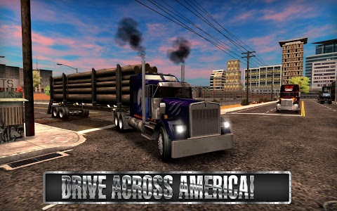 screenshot of Truck Simulator USA version 2.2.0