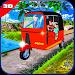 Download Tuk tuk auto rickshaw parking: the challenge game 1.0 APK
