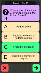 Download US Citizenship Test 2018 Audio 1.7 APK