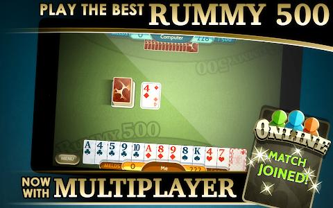 screenshot of Rummy 500 version 2.0.2