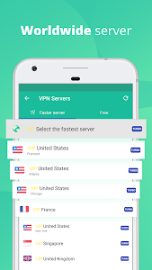 screenshot of VPN Master - Free unblock Proxy VPN & security VPN version 6.6.5