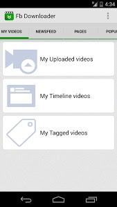Download Video download for facebook 3.1 APK