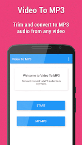 screenshot of Video to MP3 version 23.0