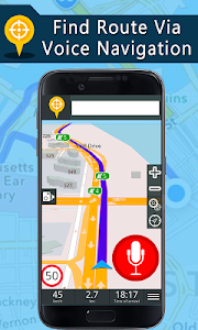 screenshot of Voice GPS Driving Directions, Gps Navigation, Maps version 1.6.1