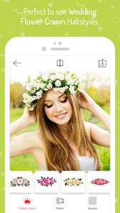 Download Wedding Flower Crown Photo 1.4 APK