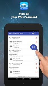 screenshot of Wifi Password Show version 2.3.2