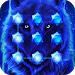 Download Blue Cool Wolf King AppLock 1.0.0 APK