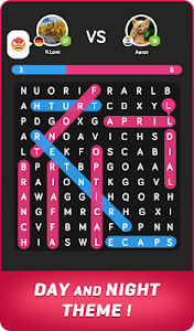 screenshot of Word Search Online version 5.1.3125
