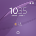 Download XPERIA™ Theme: Soft Purple 1.0.A.0.0 APK