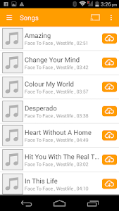 screenshot of abMusic (music player) version 2.10.0.2004