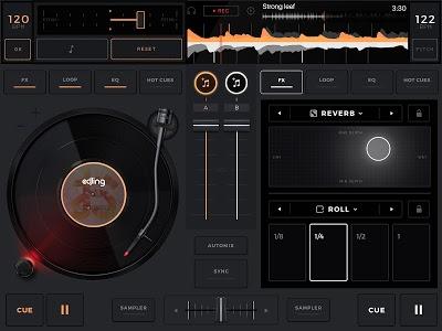 screenshot of edjing Mix: DJ music mixer version 6.10.02