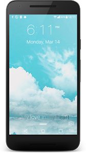 screenshot of iLock: Lock Screen OS 10 Style version 3.0