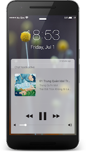 screenshot of iLock: Lock Screen OS 10 Style version 10.0.121216